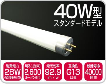 40W型 スタンダードモデル